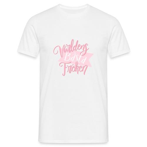Bästa Fröken Rosa - T-shirt herr