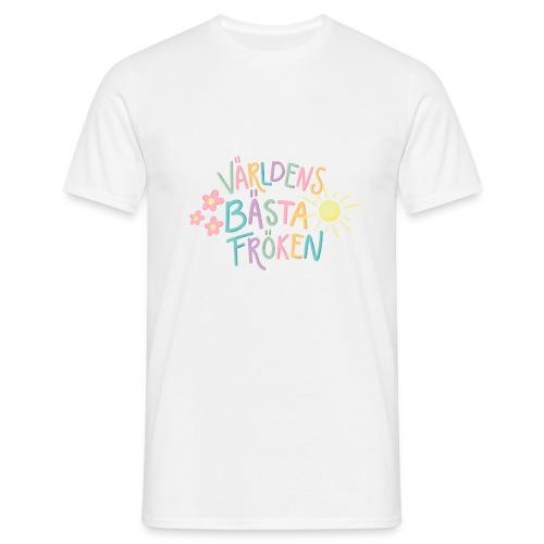 Världens Bästa Fröken - T-shirt herr
