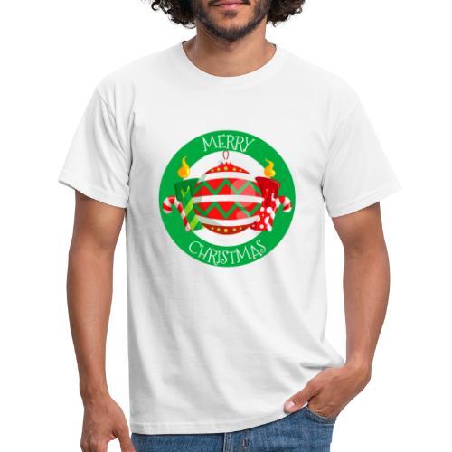 merry christmas 02 - Camiseta hombre