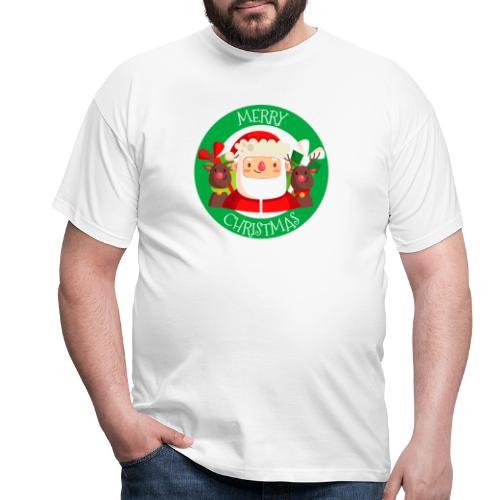 merry christmas 03 - Camiseta hombre