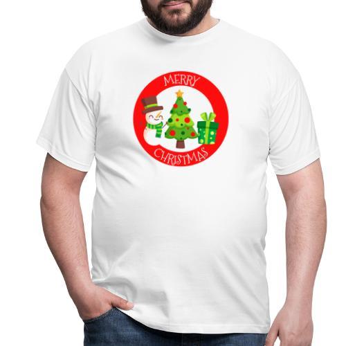 merry christmas 01 - Camiseta hombre