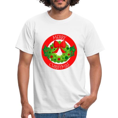 merry christmas 04 - Camiseta hombre