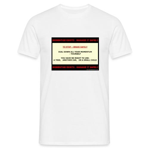 06_M-brakechild_WP565_shp - Men's T-Shirt