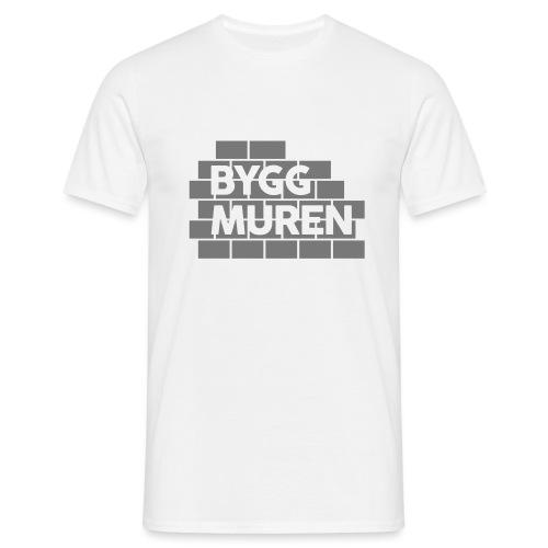 Bygg muren - T-shirt herr