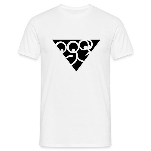 Aussenseiter-Shirt (Schwarz-Gelb) - Männer T-Shirt
