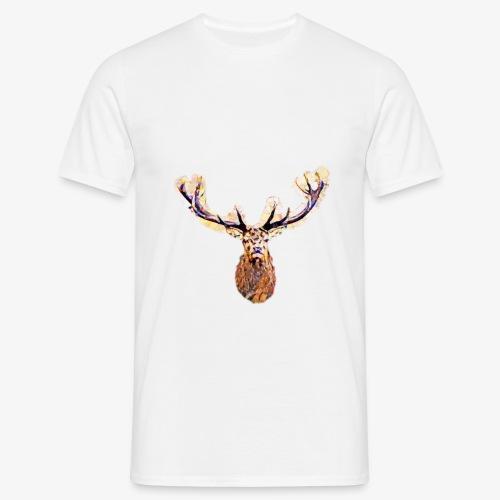 Hirsch Vektor - Männer T-Shirt