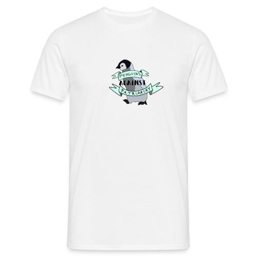 Pinguine gegen das Patriarchat - Männer T-Shirt