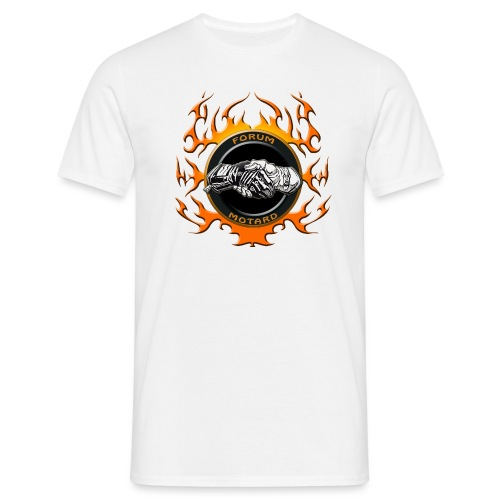 Forum Flammé Orange - T-shirt Homme