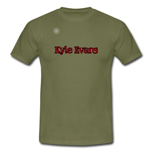 KYLE EVANS TEXT T-SHIRT - Men's T-Shirt