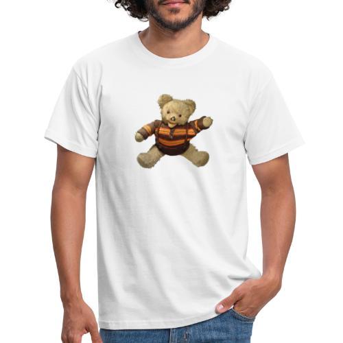 Teddybär - orange braun - Retro Vintage - Bär - Männer T-Shirt
