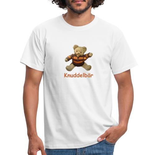 Teddybär Knuddelbär Schmusebär Teddy orange braun - Männer T-Shirt