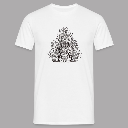 Shroomy man black - Men's T-Shirt