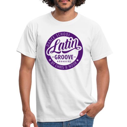 Latin Groove Logo - Männer T-Shirt