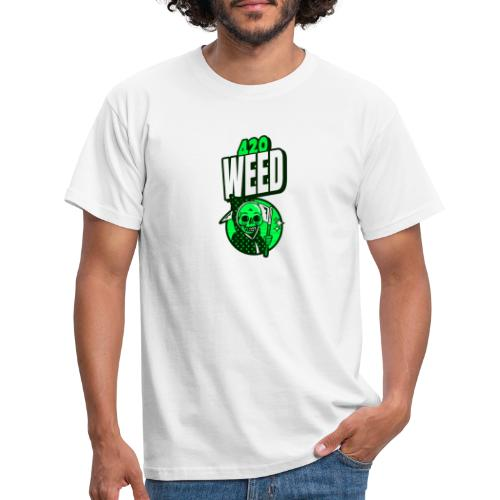 420 weed - T-shirt Homme
