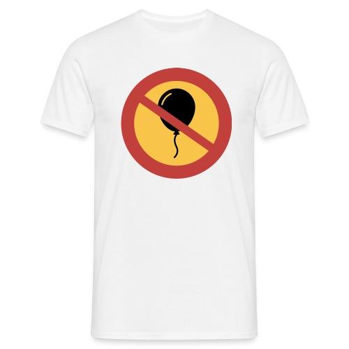 Förbud ballong - T-shirt herr