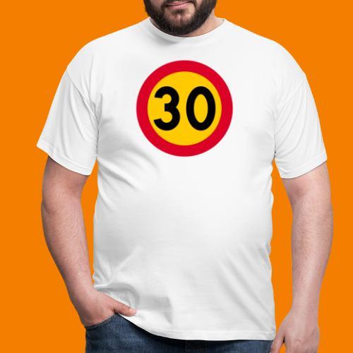 30 skylt - T-shirt herr