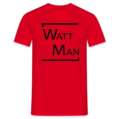 Watt Man - Mannen T-shirt
