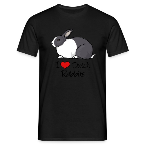 Dutch Rabbit - Men's T-Shirt