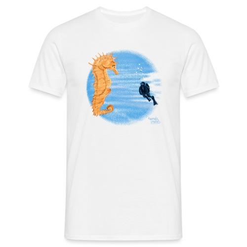 hippocampe - T-shirt Homme