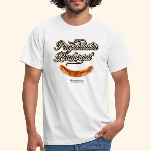 Grillen Design Projektleiter Bratwurst - Männer T-Shirt