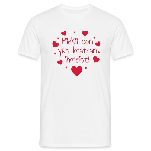 Miekii oon yks Imatran Ihmeist vauvan ph body - Miesten t-paita