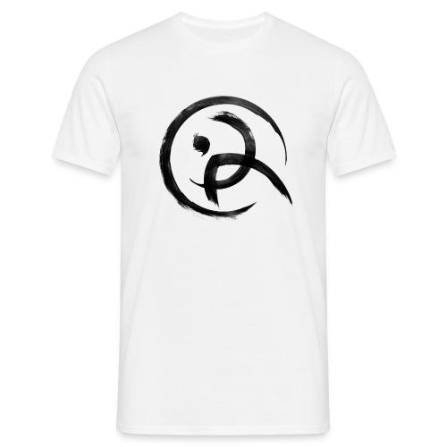 PKA_Enso_black - Männer T-Shirt