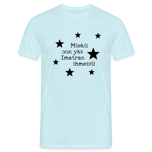 Miekii oon yks Imatran Ihmeist lasten t-paita - Miesten t-paita