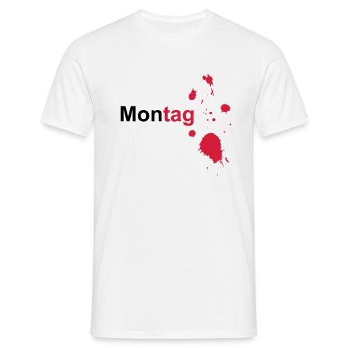 Montag - Männer T-Shirt