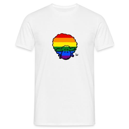 Regenbogen-Stolz-Schafe - Männer T-Shirt