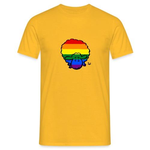Rainbow Pride Sheep - Men's T-Shirt
