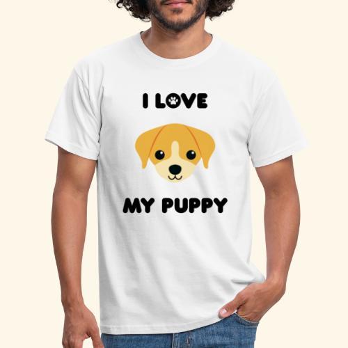 Love my puppy - T-shirt Homme