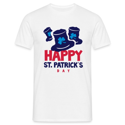 Happy St. Patrick's Bay - Men's T-Shirt