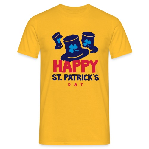 Happy St. Patrick's Bay - Men's T-Shirt