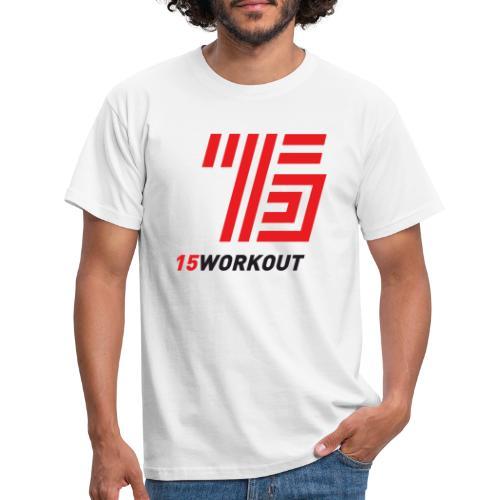 15WORKOUT Brand - Maglietta da uomo