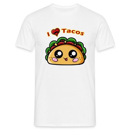 I Love Tacos - T-shirt Homme