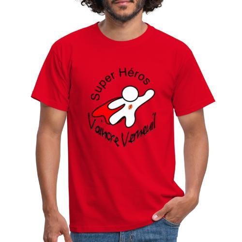 Super Héros Vaincre Verneuil - T-shirt Homme