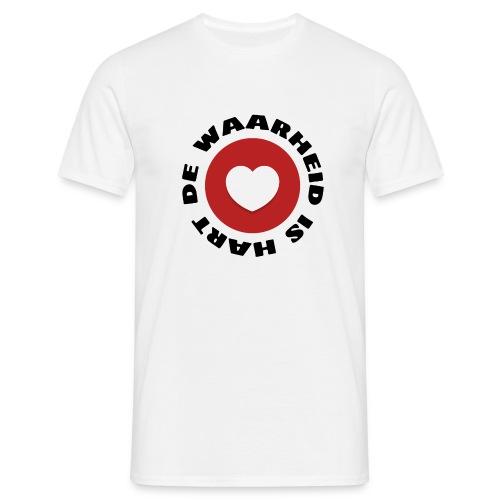 De waarheid is hart - Mannen T-shirt