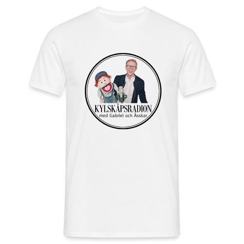Kylskåpsradions logga - T-shirt herr