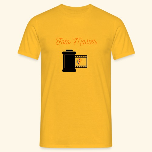 Foto Master 2nd - Herre-T-shirt