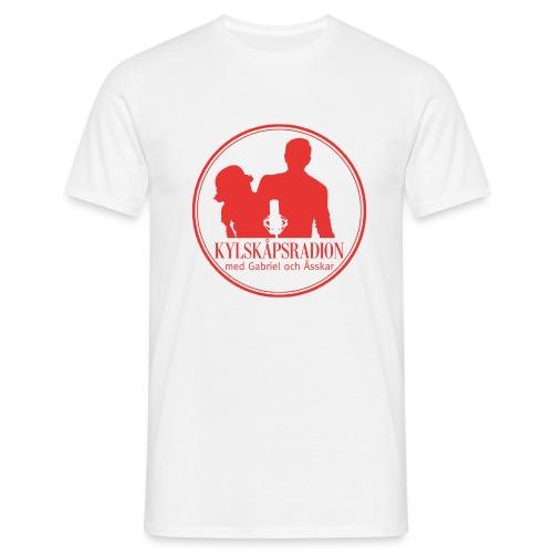 Logga helröd - T-shirt herr