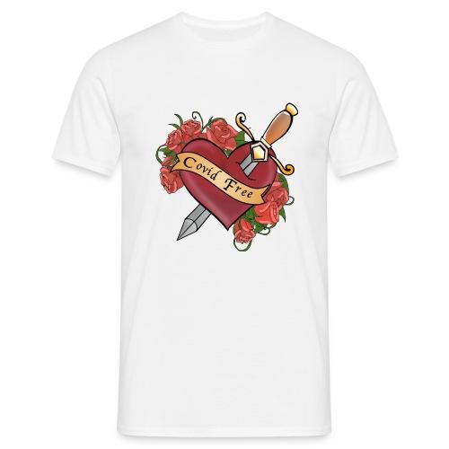 Covid FREE - Maglietta da uomo