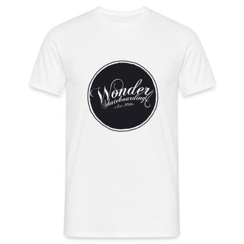 Wonder T-shirt - oldschool logo - Herre-T-shirt