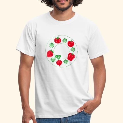 Frutos rojos del huerto - Camiseta hombre