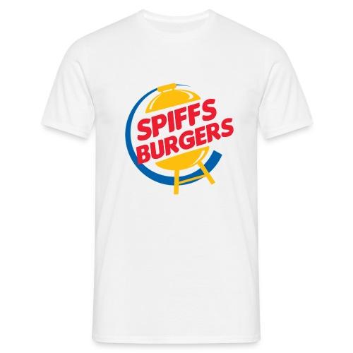 spiffs burgers - Mannen T-shirt