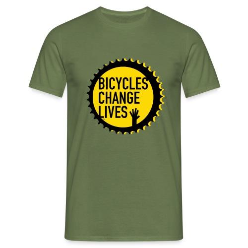 BCL Yellow Cog - Men's T-Shirt