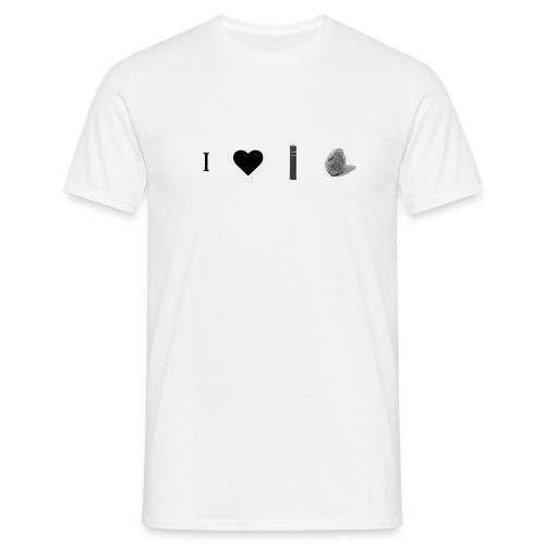 ilovepostrock2 jpg - Mannen T-shirt