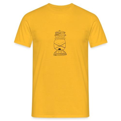 lampada olio oil lamp - Maglietta da uomo