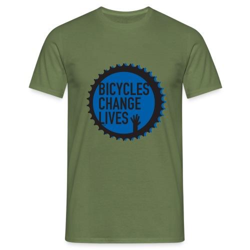 BCL Blue Cog - Men's T-Shirt