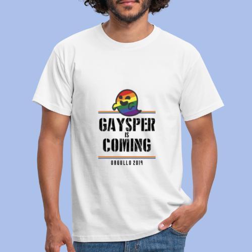 GAYSPER IS COMING - Men's T-Shirt