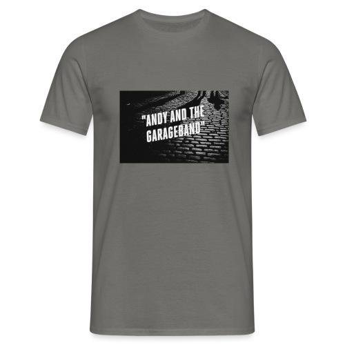 Black and White - T-skjorte for menn